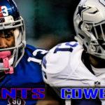 Giants at Cowboys