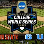 NCAA College World Series Game #1: #3 Oregon State vs #6 North Carolina
