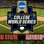 NCAA College World Series Game #13: #3 Oregon State vs Mississippi State
