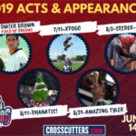 Cutters Announce Acts & Appearances For 2019 Season